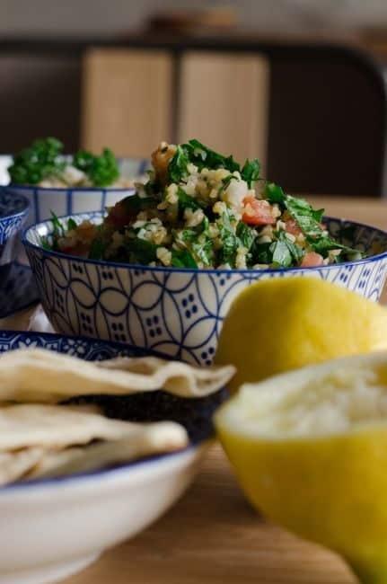 Mezze comme au Liban