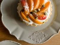 Tartelettes aux abricots & frangipane de pistaches