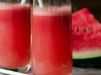 Cocktail gin, Grand Marnier & pastèque