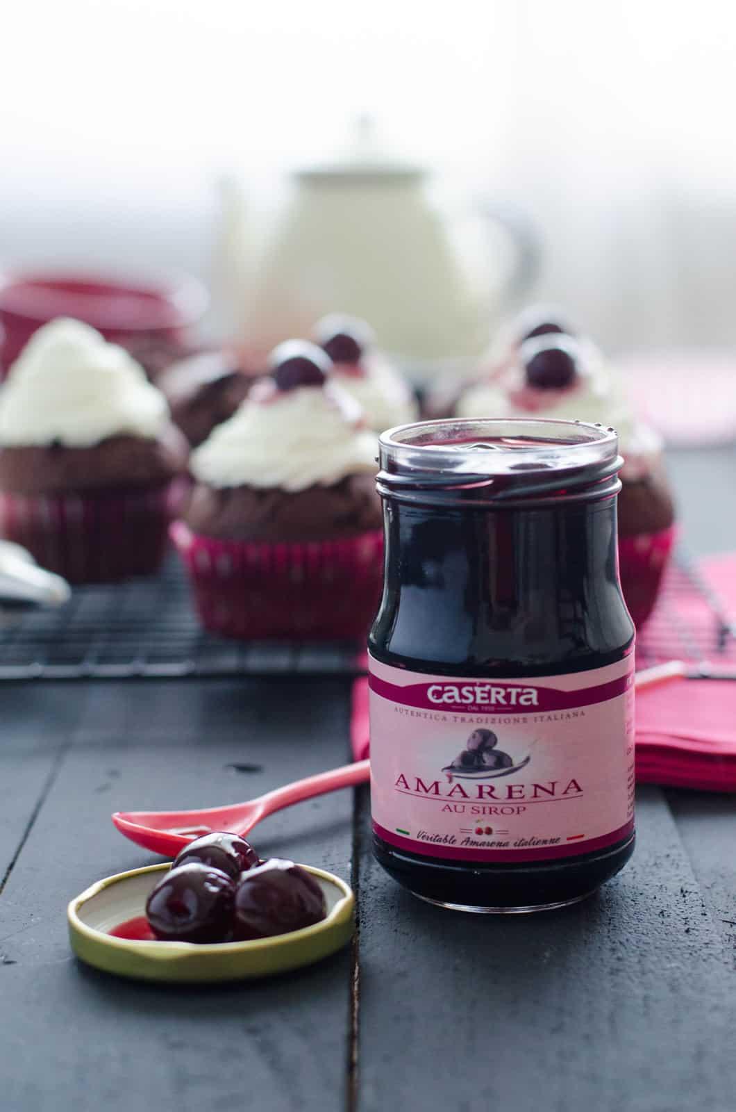 Cupcakes Forêt-Noire
