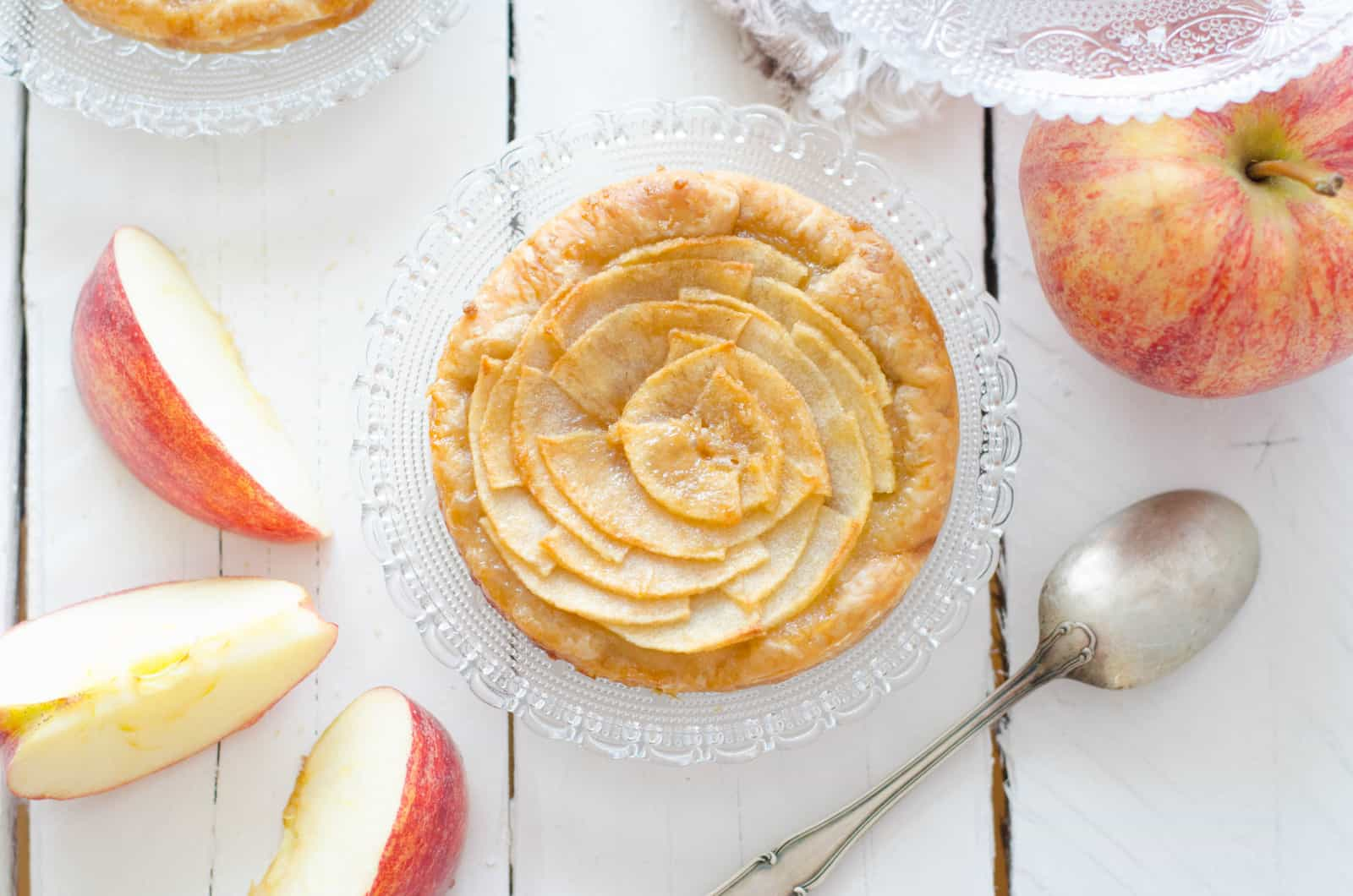 Tartelettes aux pommes à ma façon