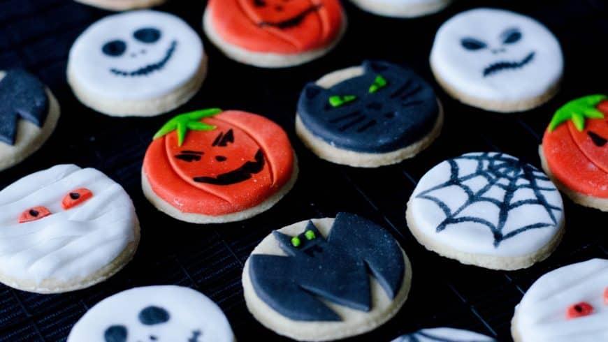 Sablés décorés pour Halloween